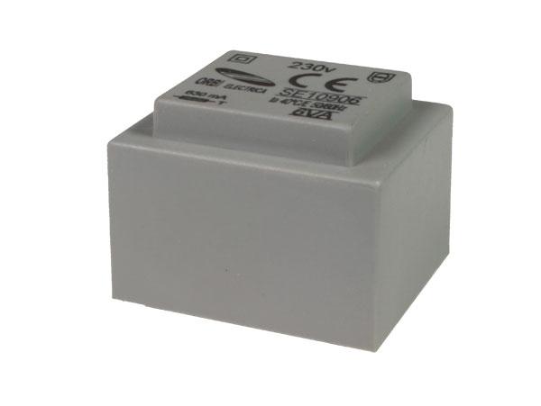 Encapsulated transformer - 6 V - 12 VA - 2 A