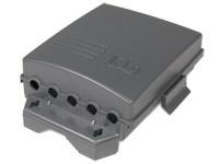Amplificador Antena TV de mastro 1 UHF + 1 VHF