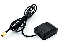Antena ativa para GPS - 3 a 5 V - Base Magnética