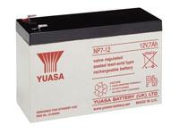 Yuasa 7-12 - 12 V - 7 Ah Lead-Acid Battery - NP7-12