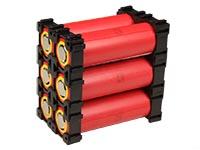 Soporte Apilable para Baterías 18650
