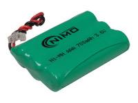 3.6 V - 700 mAh NiMH AAA Battery x 3