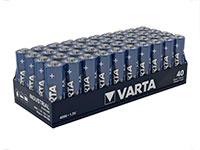 Varta LR06 - Pila Alcalina 1,5 V AA - Blister Industrial 40 Unidades - 04006211354