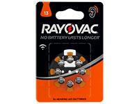 Rayovac 13AU - Pile Bouton Aide Auditive - 8 Piles - 5000252003786