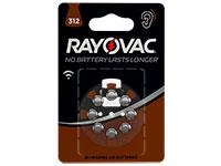 Rayovac 312AU - Pile Bouton Aide Auditive - 8 Piles - 5000252003793