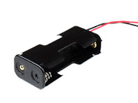 Battery Holder for 2 AA Batteries with Cable