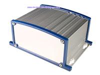 Caixa Convencional de Metal com Dissipador - 152 x 69 x 107 mm