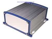 Caixa Convencional de Metal com Dissipador - 152 x 69 x 157 mm