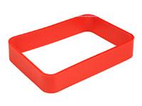 Teko WITEK - Rectangular Ring for Teko Witek WK-2 Series - 80 x 56 x 15mm - Red - RWK-2.39