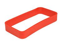 Teko WITEK - Rectangular Ring for Teko Witek WK-3 Series - 90 x 46 x 13 mm - Red - RWK-3.39