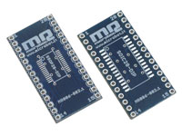SSOP28 and SOIC28 to DIP28 adapter
