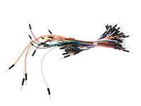 Velleman WJW009N - Juego 65 Cables Macho - Macho de Varios Colores