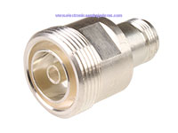 7/16 Female to N Female Connector Adapter - A-AD-716-N-00-50
