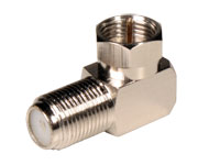 F Male to F Female Right Angle Connector Adapter - CF13