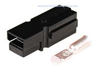 Conetor do Tipo Anderson® Powerpole® PP180 - Preto - AWG2