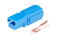 Anderson® Powerpole® PP15-45 Type Connector - Blue - AWG10 .. AWG14