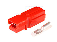 Conector Tipo Anderson® Powerpole® PP15-45 - Rojo - AWG10 .. AWG14