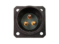 BM20B3 (920223CP) - 3 contacts male receptacle size 20 circular connector