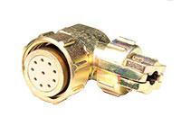 FHC20B10 - Connecteur Circulaire Taille 20 Femelle Fiche Coudé 10 Pôles - 9208210A0S