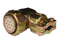 FHR20C7 - Connecteur Circulaire Taille 20 Femelle Fiche Coudé 7 Pôles - 920627ES