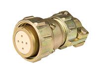 FHR20C5 - Connecteur Circulaire Taille 20 Femelle Fiche Droite 5 Pôles - 920625SS
