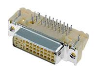 Molex - Conetor DVI Fêmea Circuito Impresso  - 29 Pinos - 74320-1004