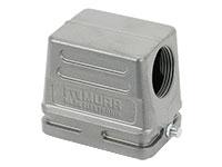 Murrelektronik B6 - HAN 6B Connector Housing 1 Side Closure - 90º Outlet - 70MH-GTDNL-A02C000