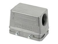 Murrelektronik B10 - HAN 10B Connector Double Lock Housing - 90º Outlet - 70MH-GTENQ-A02C000