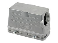 Murrelektronik B16 - HAN 16B Connector Short Housing Double Closure - 90º Outlet - 70MH-GTFNQ-A02C000