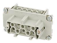 Murrelektronik B10 - HAN 10B Female Connector - 10 + PE Screw Contacts - 70MH-EB010-ES03020