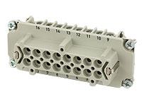 Murrelektronik B16 - HAN 16B Female Connector - 16 + PE Screw Contacts - 70MH-EB016-FS03020