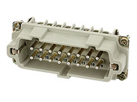 Murrelektronik B16 - HAN 16B Male Connector - 16 + PE Screw Contacts - 70MH-ES016-FS03020