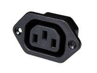 IEC 60320 C13 Chassis-Mount Female Connector - 31208