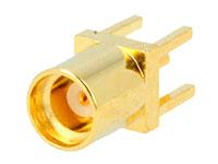 Conetor MMCX Base Fêmea Reta Circuito Impresso - MMCX-10