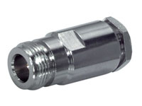 - Ningún fabricante - - N-Type Straight Cable-Mount Female Connector for RG58 with Solder Contact - 05/29310