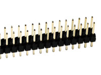 2.54 mm Pitch - Straight Male Header Strip - 32 Pins