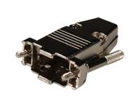 CARCASA CONECTOR SUB-D 9 CONTACTOS - METALICA
