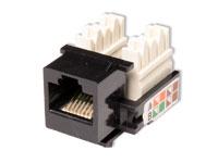 Conector Jack Telefónico 8P8C Encastrar Hembra - RJ45 - Cat. 5E