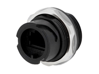 CONECTOR MODULAR BASE HEMBRA PANEL 8P8C ESTANCO