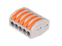 Conector Emenda 5 Contatos - 0,08 .. 4 mm²