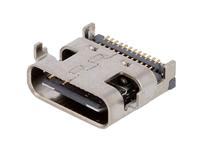 Conector USB-C Hembra Circuito Impreso - USB 3.1 - USB-C31-S-RA-SMT-BK