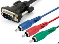 Cable VGA Macho a 3 RCA Macho (RGB) - 10 m - 02-1400
