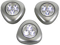 Lâmpadas de LED Autoadesivas - 3 Unidades - CCL02X3