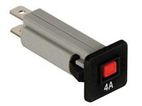 Fusível Automático 4 A - 250 Vca - Disjuntor Térmico - T9-611P-4A