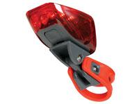 Luz Traseira para Bicicleta - 6 LEDs Vermelhos - EBL5
