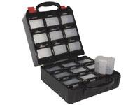 Caixa de Ferramentade Plástico com 18 Gavetas Removíveis - OBB1