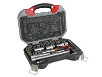 "1/2"" - 1/4"" Ratchet and Socket Set -32 Units - HSETPRO6"