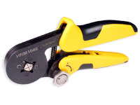 Crimping pliers for end sleeves