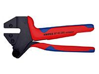 Knipex - Alicate de crimpagem de cabeça intercambiável - 97 43 200 A