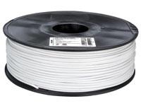 Filament ABS - 3,00 mm - 1 Kg - Blanc - ABS3W1